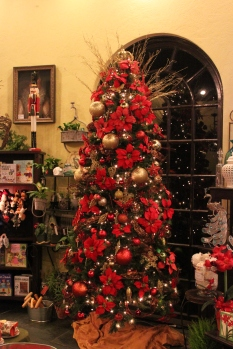 Christmas Tree at Elizabethan Gardens